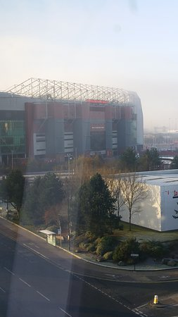 Old Trafford Stadium from our room