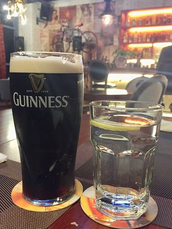 Weihai, China: Good Guinness