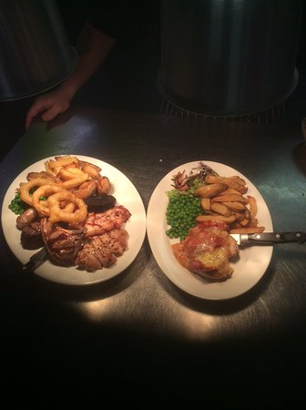 Hardstoft, UK: Mixed Grill