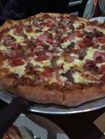 Royal Oak, Μίσιγκαν: Carne pizza