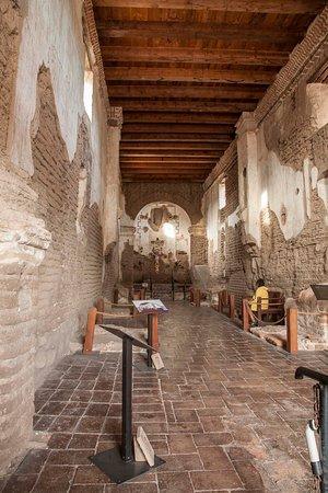 Interior of Tumacacori.