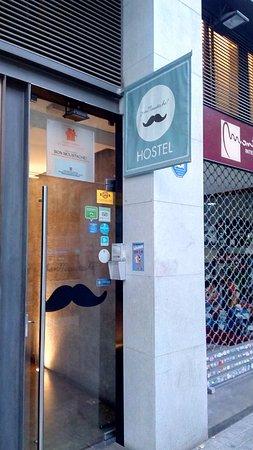 Don Moustache Hostel : ENTRANCE OF HOSTEL