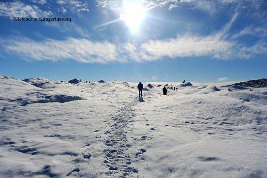 Nunavut, Canada: Excursion to glazier at Kangerlussuaq