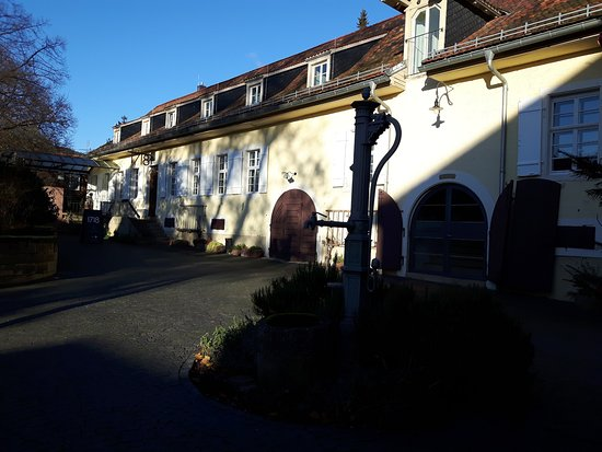 Deidesheim, ألمانيا: Innenhof vom Ketschauer Haupthaus