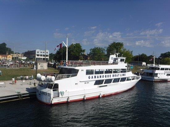 Gananoque, Canada: Boat cruise. So relaxing