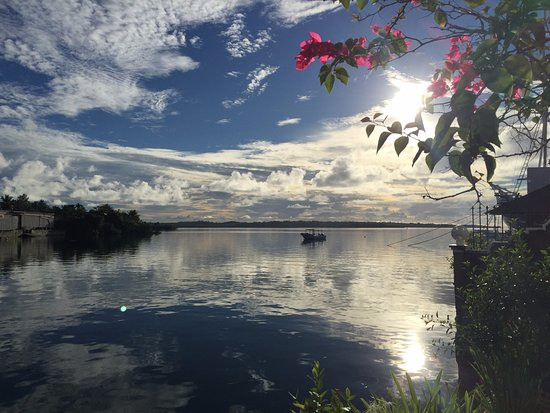 Colonia, Federated States of Micronesia: Manta Bay Resort.