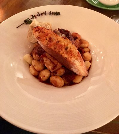 Morganton, Carolina del Norte: Gnocchi with chicken