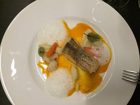 """Trechtingshausen, Alemania: Burg Reichenstein. Restaurant """"Puricelli""""  Unglaublich leckeres Menü!"""