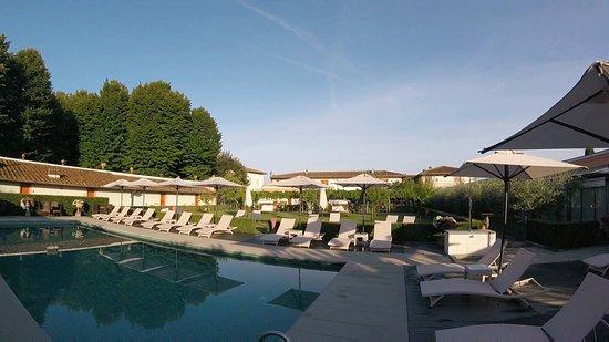 Bagno a Ripoli, Italie : The pool.