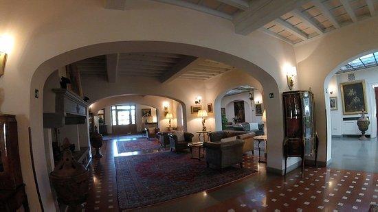 Bagno a Ripoli, Italy: The lobby.