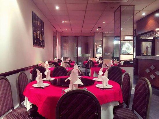 Gillingham, UK: Restaurant Interior