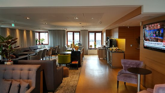 Hilton Stockholm Slussen: The executive lounge