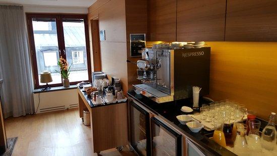 Hilton Stockholm Slussen: Executive lounge