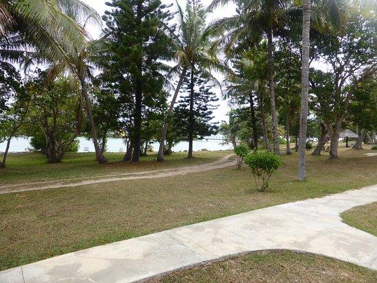 Hotel Malabou Beach: jardin