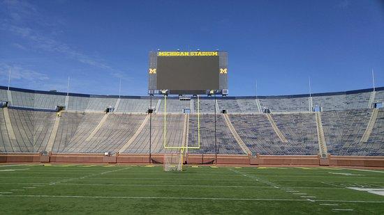 Ann Arbor, MI: On the field