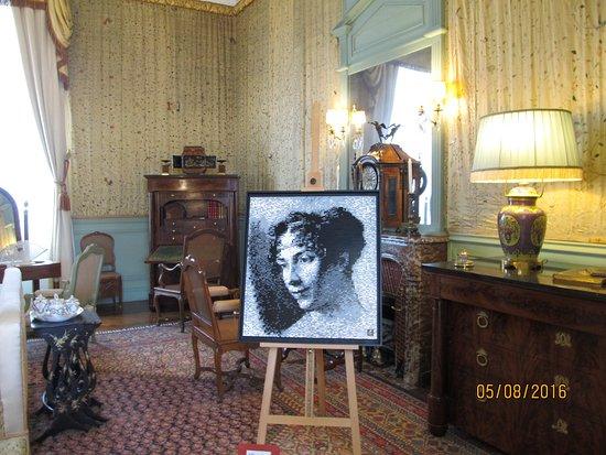 Cheverny, Francia: Kamer van de dame des huizes.