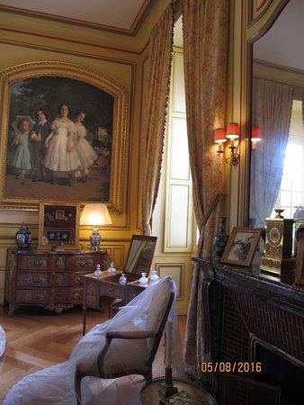 Kamer Chateau de Cheverny