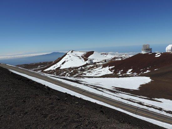 Mauna Kea Summit: Estrada de chegada ao pico