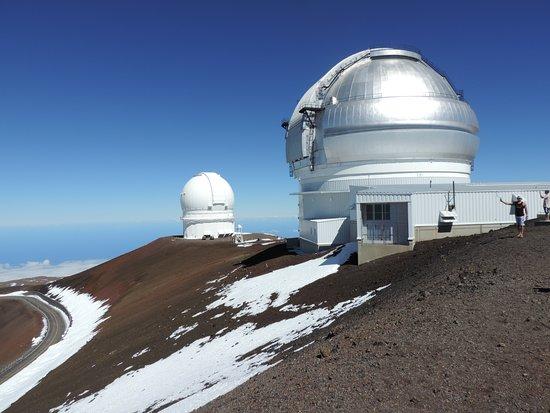 Mauna Kea Summit: Principais observatórios