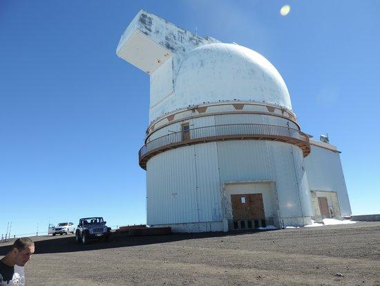 Mauna Kea Summit: Um dos observatórios mais de perto