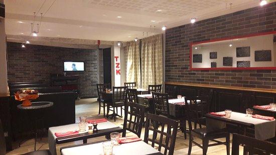 Орийак, Франция: Salle Restaurant