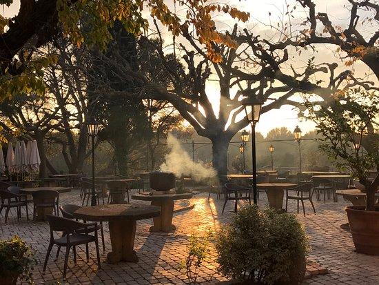 Noves, Γαλλία: La terrasse