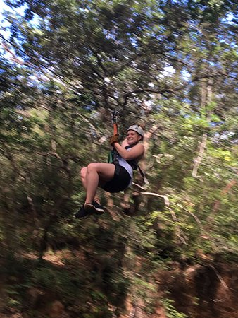 Gulf of Papagayo, Costa Rica: Ziplining