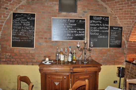 Vinchio, Włochy: Menù