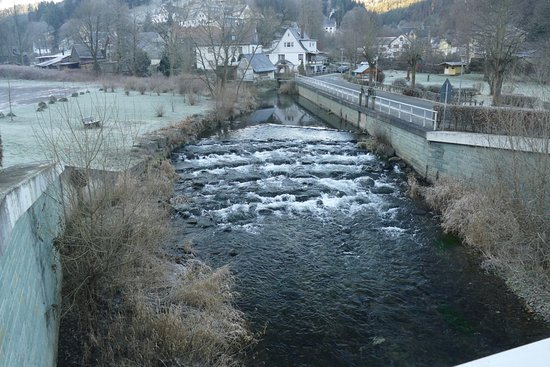 Flair Hotel Waldfrieden: The river in front of the hotel