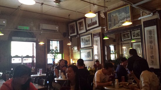 Lots Of Frames Picture Of Old China Cafe Kuala Lumpur Tripadvisor