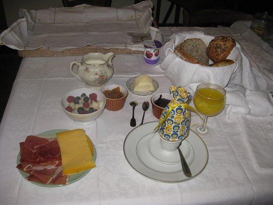 B&B De Sterre: завтрак