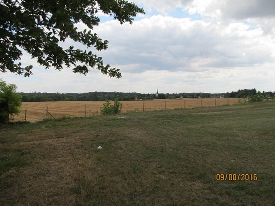 Cellettes, ฝรั่งเศส: Uitzicht vanaf Parc de Beauregard