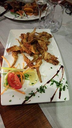 Crespina, Italia: Carciofi fritti