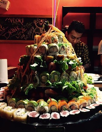 sushi cake ......