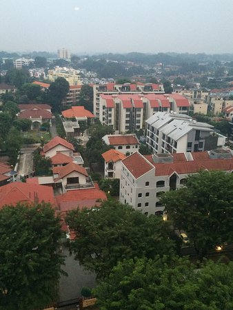 Hotel Royal Singapore: view from the 17th floor