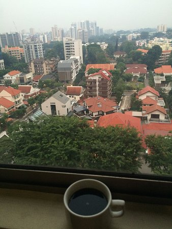 Hotel Royal Singapore: morning coffee