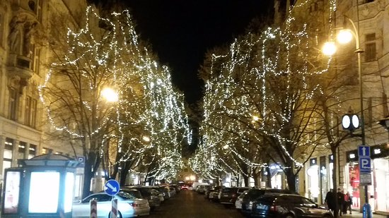 Christmas Lights In Paris.Christmas Lights In Paris Street Picture Of Livingprague