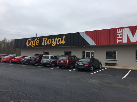Cafe Royal: New LOCATION