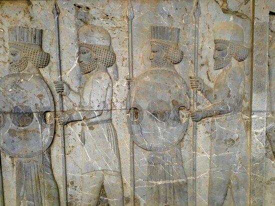 Reliefs picture of persepolis tripadvisor