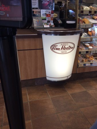 Tim Hortons and Cold Stone Creamery: Tim Horton!! Taste of Canadian Coffee!