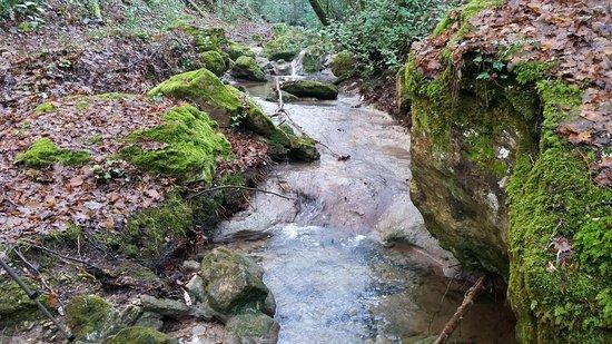 Bagnols-en-Foret, Frankreich: Cascade de Gourbachin en décembre