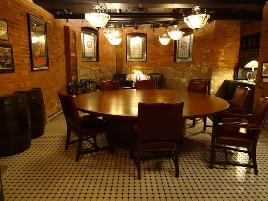 Canadian Club Brand Center: The secret meeting room