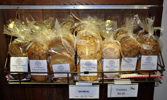 Norwich, Вермонт: King Arthur Flour Bakery + Cafe - Cookies To Go