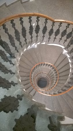 Wenceslas Square Hotel: Spiral Staircase