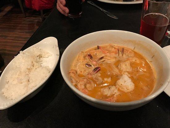 Marina del Rey, Californië: Killer Shrimp Rice