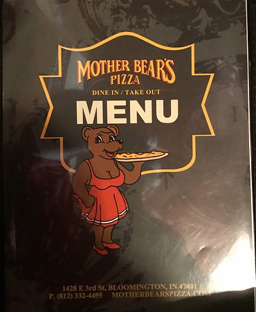 Bloomington, IN : Mother Bears Menu