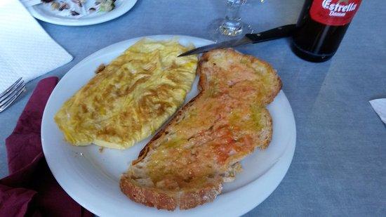 Bigues i Riells, Spania: tortilla