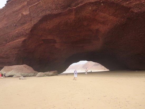 Legzira Beach: С другой стороны