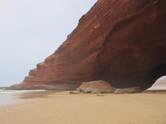 Legzira Beach: Нога первой арки