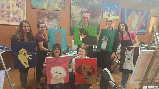 Gilbert, AZ: Paint Your Pet night!